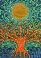 Moon Over The Orang Tree