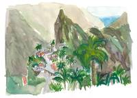 Masca Tenerife Valley And Village Canary Remotenes