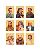 9 Popular Saints Portraits