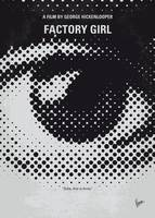 No1167 My Factory Girl minimal movie poster