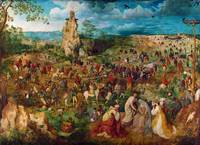 The Procession to Calvary by Pieter Bruegel the El