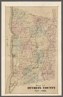 Duchess Count Antique Map 1877