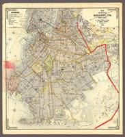 Brooklyn, New York City, Detailed 1906 Map