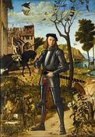 Young Knight in a Landscape by Vittore Carpaccio (