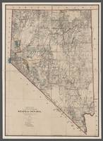 Nevada 1894 Old Map