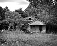 Texas Forgotten - Farmhouse BW