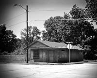 Texas Forgotten - Abandoned General Store BW