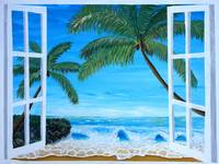 Caribbean Hideaway Seaview Window Dreams
