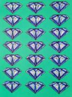 Diamonds (blue)
