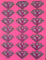 Diamonds (pink)