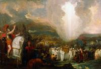 Benjamin West~Joshua passing the River Jordan with