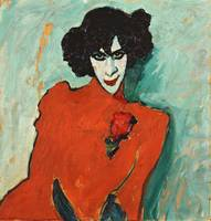 Alexej von Jawlensky~Portrait of the Dancer Aleksa
