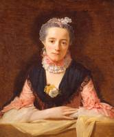 Allen Ramsay~Lady in a Pink Silk Dress