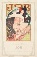 Alphonse Mucha~COLLECTION JOB , AFFICHE 1898 - MUC