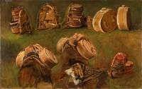 Anders Askevold~Study of Pack Saddles and other Ob