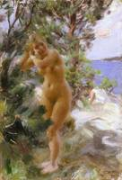 Anders Zorn~After the Bath