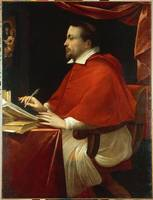 Anonimous Lombard painter~Portrait of Cardinal Fed