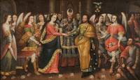 Anonymous Cusco School~The Marriage of the Virgin