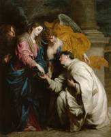 Anthony van Dyck~The Vision of the Blessed Hermann