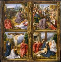 Bernard van Orley~Four Scenes from the Passion