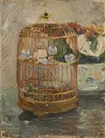 Berthe Morisot~The Cage