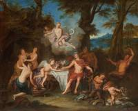 c. 1702~The Alliance of Bacchus and Cupid
