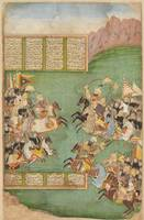 c.AD 1750~Kay Khusraw Leads his Force against Afra