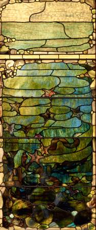 c. 1885–1895~Window with Starfish (Spring)