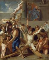 Charles Le Brun~The Martyrdom of St. Andrew