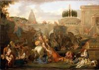 Charles Le Brun~The Massacre of the Innocents