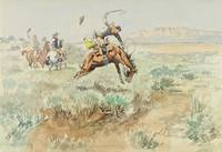 Charles Marion Russell~Bronco Busting