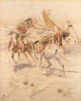 Charles Marion Russell~Duel to the Death