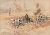 Charles Marion Russell~Huntsman and Dogs