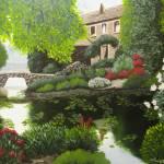 """English Cottage"" by FineArtbyACarnesecchi"