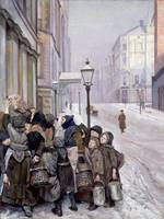 Christian Krohg~Struggle for Survival