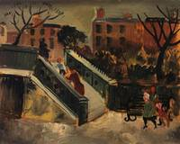 Christopher Wood~The Steps, Chelsea
