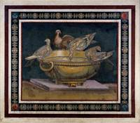 100 - 199 AD~Mosaic of the Doves