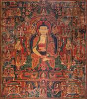 14th century~Amitabha Buddha in his Paradise