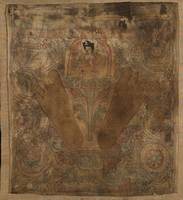 14th century~Karmapa with his footprints