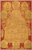 18th century~The Fifth Dalai Lama with Previous In