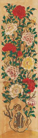 19th century-Early 20th century~Painting of Peonie