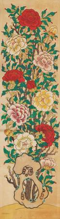 19th century_Early 20th century~Painting of Peonie