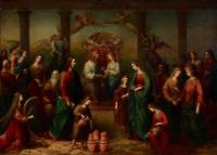 Adelaide Ironside~The marriage at Cana of Galilee