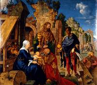 Albrecht Durer~Adoration of the Magi