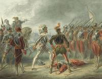 Alexander Ver Huell~Spanish soldiers refuse to att