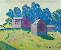 Allen Tucker~Red Barns