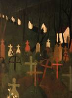 Amrita Sher-Gil~The Merry Cemetery