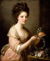 Angelica Kauffman~Portrait of Eleanor, Countess of