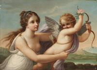 Angelica Kauffman~The Victory of Eros