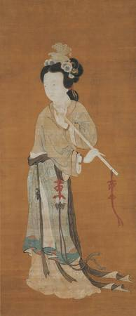 ANONYMOUS~Lady Playing the Flute